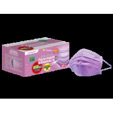 萊潔 醫療防護口罩LA-MA-001-PU 薰衣紫